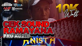 Download CEK SOUND RAMAYANA MUSIC 10:000 Watt FEAT NEW ANISTA 2019