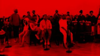 """Kanye West performs """"Ghost Town"""" with 070 Shake and the Sunday Service Choir"""