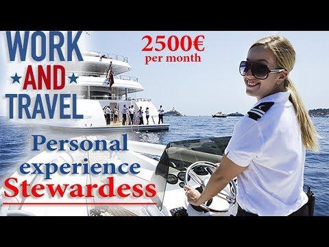 Работа для девушек за границей или как устроиться на мега яхту к миллионеру. Личный опыт!