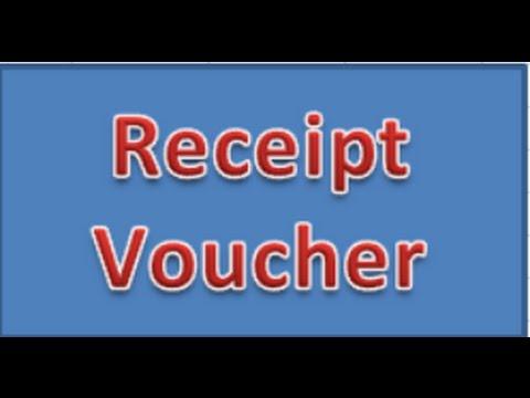 Business Receipt Voucher In Ms Excel