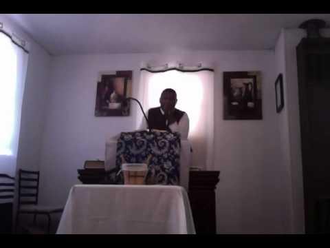 Apostle Charles Marsh at Inner Circle Holiness Church 11.10.2013