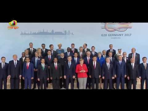 World Leaders Assemble for G20 SUMMIT Family Photo 2017 | Mango News