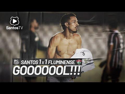 SANTOS 1 X 1 FLUMINENSE | GOL | BRASILEIRÃO (21/02/21)