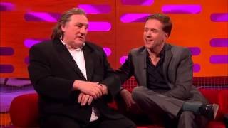 Graham Norton  2012 S10x20 Gerard Depardieu, Damian Lewis, Dominic West and Olly Murs Part 1 - YouTu
