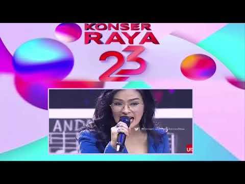 woww....Konser Raya Indosiar ke 23 tahun