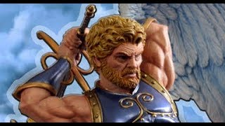 Sculpting Heroes of Might & Magic III Archangel Statue