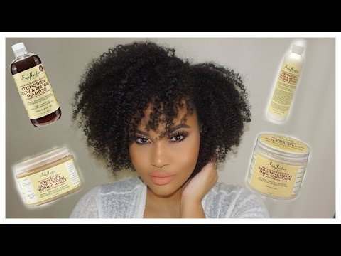 Shea Moisture Jamaican Black Castor Oil Line | REVIEW & DEMO