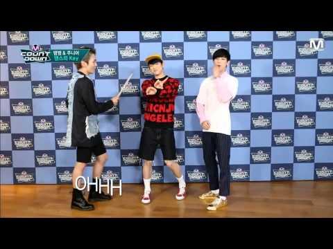 "150611 Jr. & BamBam (GOT7) - SHINee ""View"" @ M Countdown Dance School"