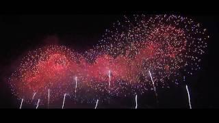 大曲花火大会2010 大会提供花火 HD最高画質