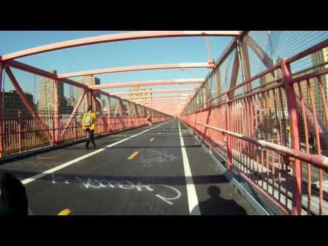 bike ride NYC - Brooklyn to Manhattan