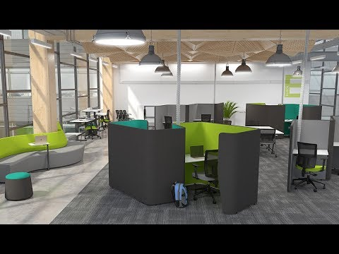 Activity Based Working Design and Fitout
