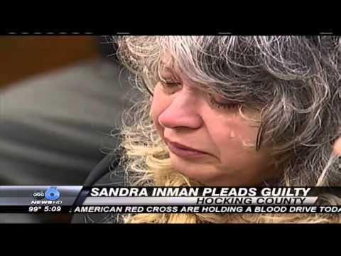 Sandra Inman Pleads Guilty to Murder