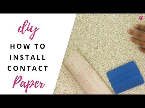 DIY: How To Easily Install Contact Paper