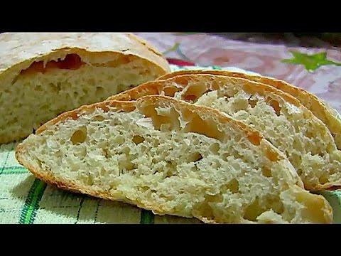 Чиабатта в хлебопечке - рецепт с фото на