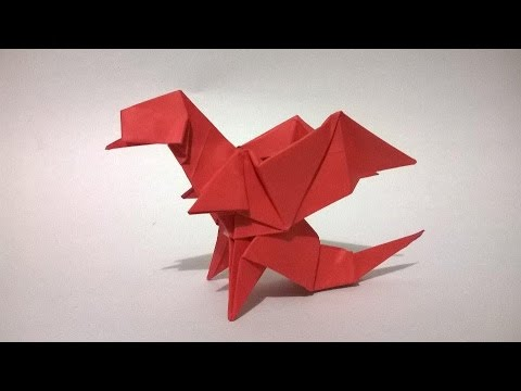 how to make origami paper dragon