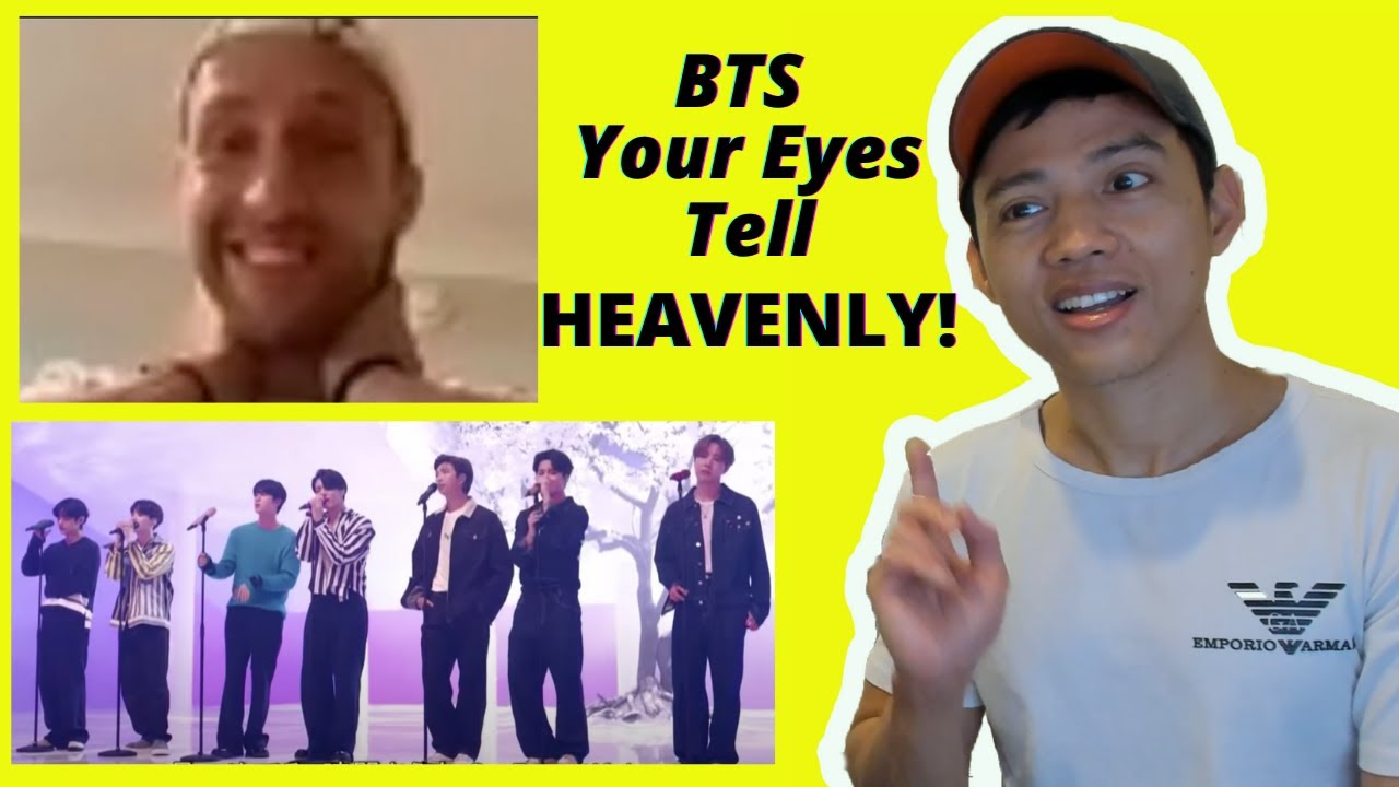BTS (방탄소년단) Your Eyes Tell live performance | reaction video by reactions unlimited