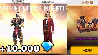 DESBLOQUEO TODO!! NUEVA ACTUALIZACIÓN +10.000 DIAMANTES //FREE FIRE