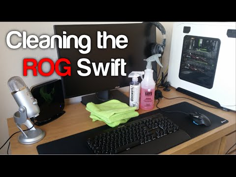 How to Clean the Asus ROG Swift PG278Q Screen, Chemical Guys Glassworks