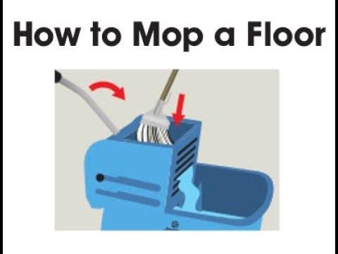 Jangro How To Mop A Floor Youtube