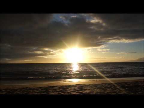 Charley Young Beach Cam HD 2013 ~ Timelapse ~ Hawaii Web Cam ~ Maui Sunset