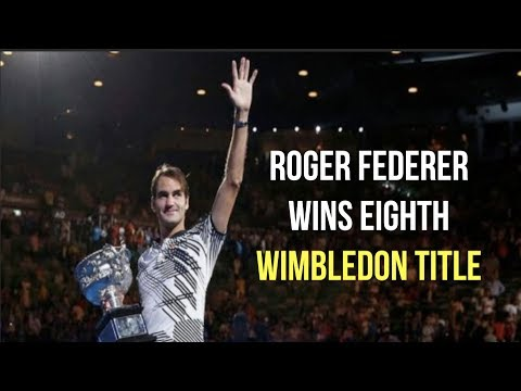 Roger Federer Reaches Multiple Milestones With Wimbledon Title