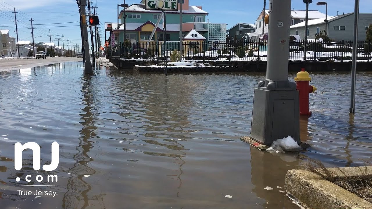 Long Beach Island sees some flooding after nor'easter