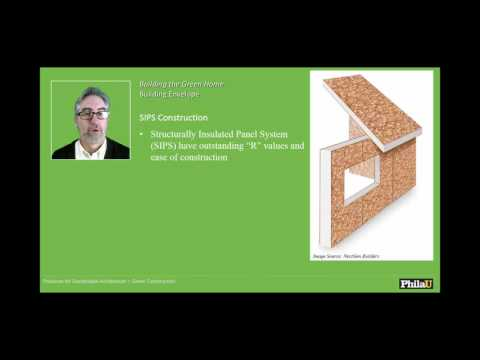 Practices for Sustainable Architecture Green Construction Building Envelope