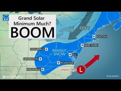 GSM Update 3/21/18 -Nor'easter #4 - Spring Thundersnow - Man