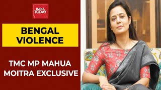 TMC MP Mahua Moitra Says '95% Of What Is Going On Social Media About Bengal Violence | Exclusive