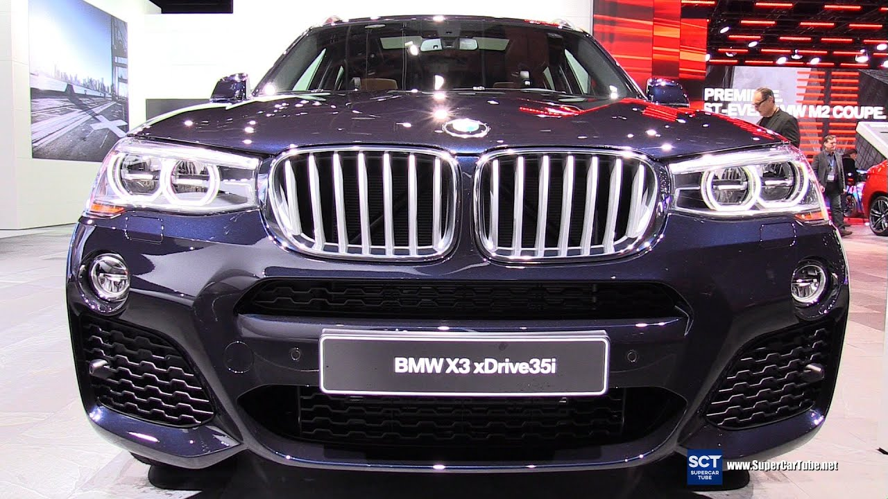 2016 bmw x3 xdrive35i exterior and interior walkaround. Black Bedroom Furniture Sets. Home Design Ideas