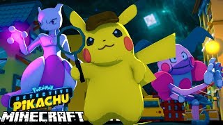 Detective Pikachu - OUR NEW JOB AS A DETECTIVE - Minecraft
