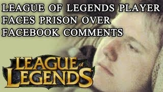 The Saga of Justin Carter League of Legends Player Arrested for Facebook Comments - MMO Anthropology