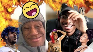 HE'S SPOT ON! | Ordering Food As Ski Mask, XXXtentacion, 6ix9ine & More | Reaction