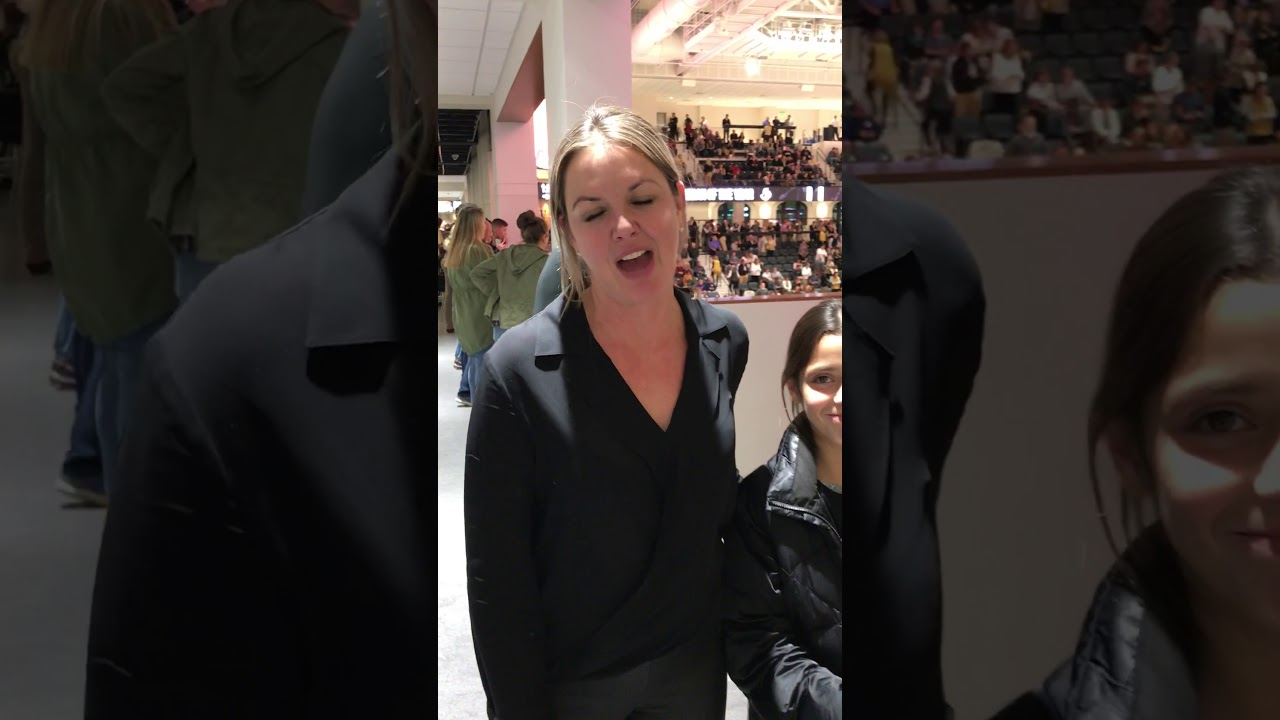 ESPN's Wendi Nix (Wofford alum) talks new arena - YouTube