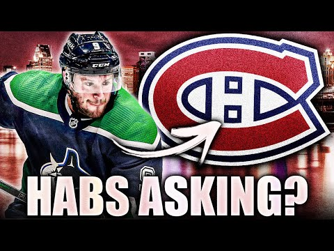 HABS ASKING ABOUT JT MILLER (Vancouver Canucks & Montreal Canadiens NHL Trade Rumours 2021 Today)