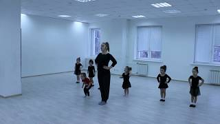 Видео-урок (I-семестр: декабрь 2017г.) - филиал Червишевский, группа 2-3 года, Детский танец