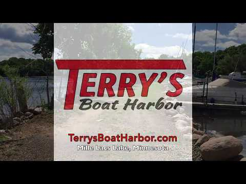 Terrys Boat Harbor - Mille Lacs Lake's World Class Bass Fishing's Top Rated Dock in Minnesota