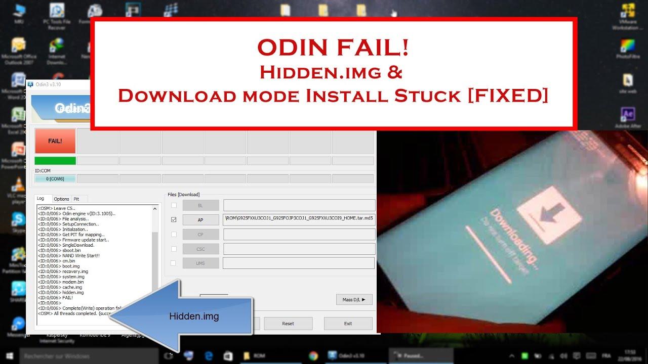 Odin - Fix Hidden img [All Mobiles] by Abdelhak Khalfi