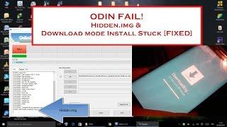 Odin - Fix Hidden.img [Samsung Galaxy S6 Edge SM-G925F]
