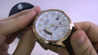 Citizen CB0013-04A Eco Drive Watch Unboxing & Review