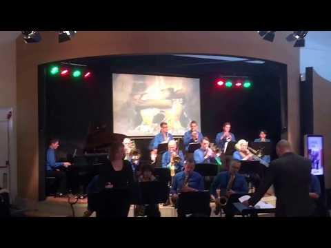 Jalafusi Big Band ft Margje Vleck | Fly me to the Moon | dec 2017