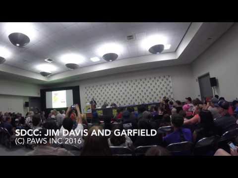 Hermes Press SDCC Garfield and Jim Davis Panel