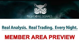 Night Owl Signals - Trading Binary Options Live with Trader
