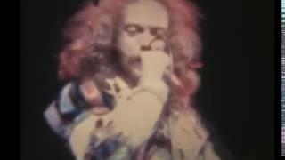 Jethro Tull Veterans Memorial Auditorium New Haven 9-27-75 Silent Super8 film transfer + sound sync