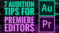 7 Adobe Audition Tips For Premiere Pro CC Video Editors
