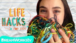 Rad Rubberband Hacks | LIFE HACKS FOR KIDS