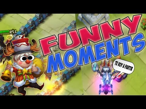 Funny Moments Castle Clash   YouTube