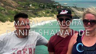 Hawaii  Urlaub - deutsche Tour mit Drohne - DanielsHawaii.de