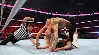 Raw: Kelly Kelly vs. Nikki Bella