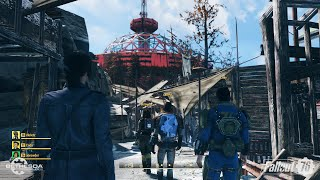 Fallout 76 base building and farm capturing (No comment) (უკომენტაროდ)